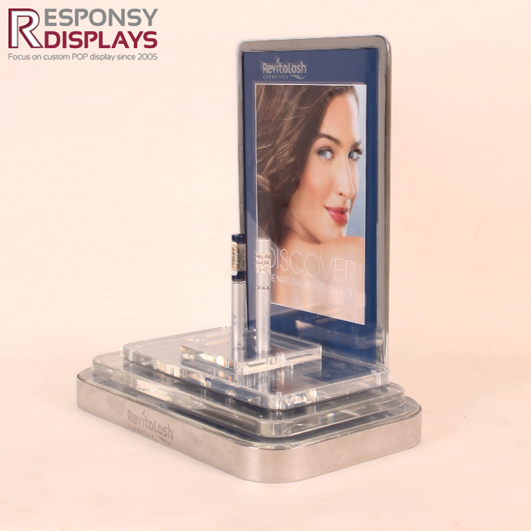 consmetic acrylic display stand