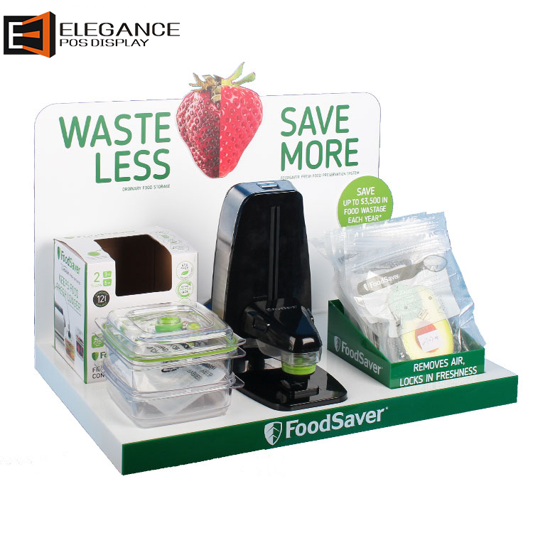 Creactive Design Acrylic and PVC Foodsaver Fresh-keeping Machine Display Stand