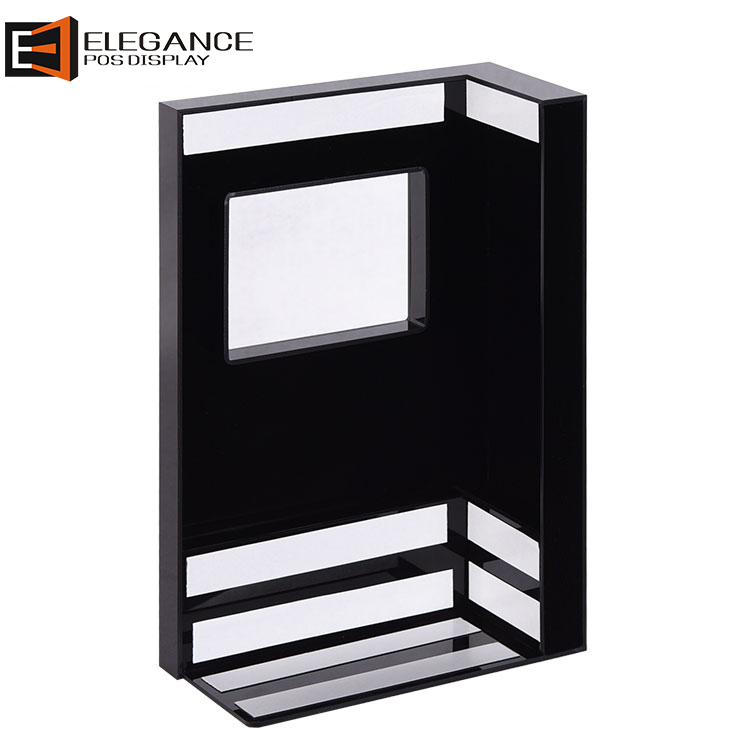 Black Acrylic Retail Equipment Accessories Cashier Display Cover use in Supermarket