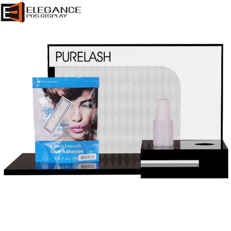 Tailor-made Acrylic Beauty Eyelashes Cosmetic Counter Display Stand
