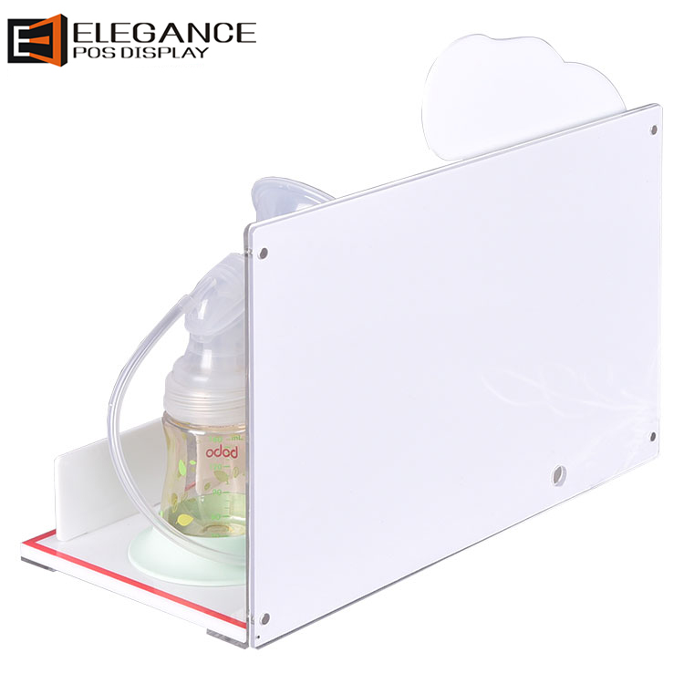 Counter Acrylic Breast Pump Stand Rack Baby Products Display Rack