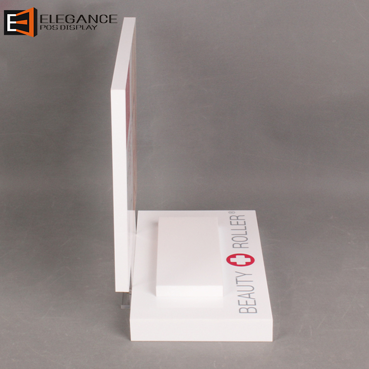 Customized Counter Acrylic Display Beauty Apparatus Stand For Cosmetic Stores